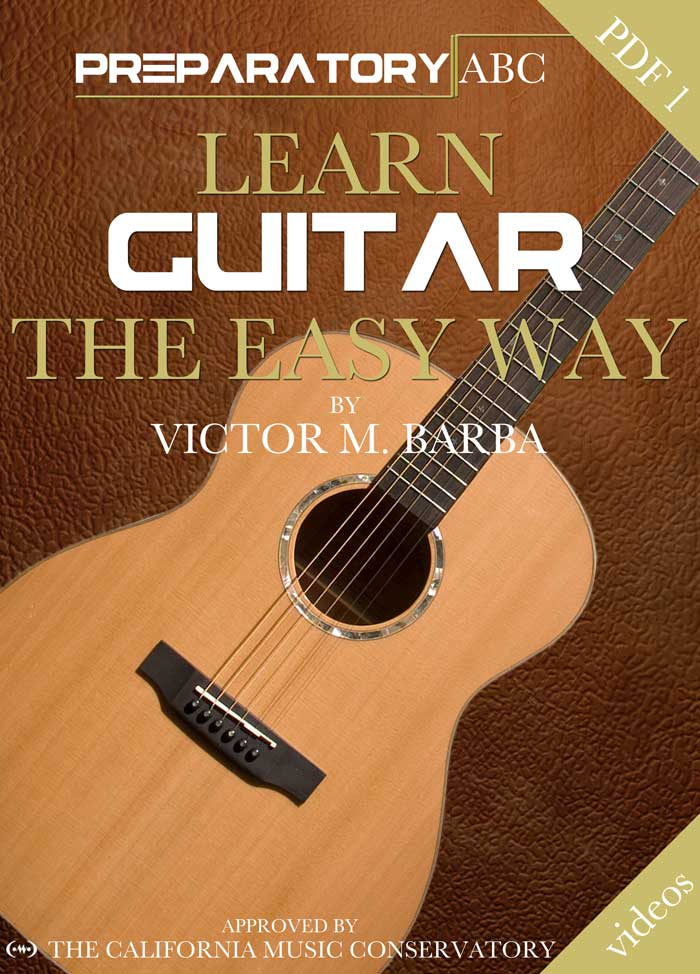 Learn Guitar The Easy Way Preparatory ABC Cover Book