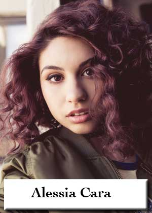 Alessia Cara with sheet music in PDF