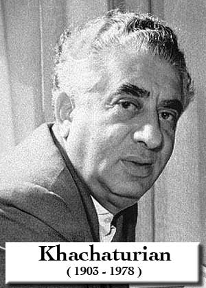 Sabre Dance By Aram Khachaturian Sheet music in PDF