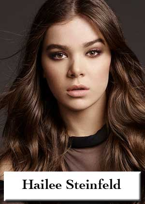 Hailee Steinfeld with sheet music in PDF