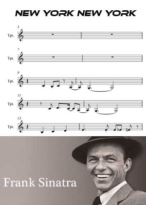ID00056_New_York By Frank Sinatra with sheet music in PDF score in songnes.com