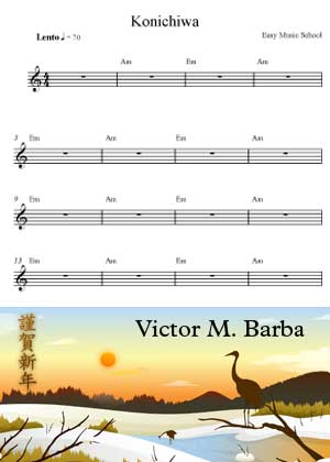 Konichiwa Chords By Victor M. Barba