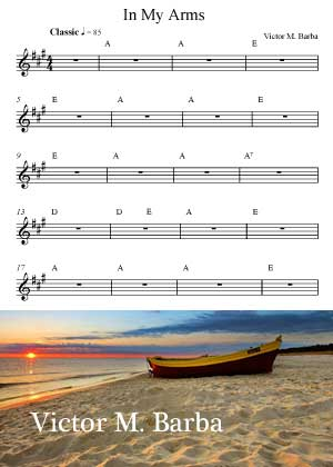 In My Arms With Sheet Music PDF By Victor M. Barba