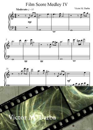 Film Score Medley 4 By Victor M. Barba