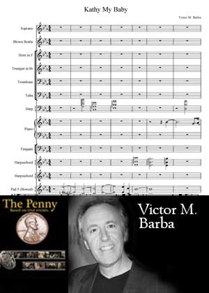 Kathy My Baby With Sheet Music PDF By Victor M. Barba