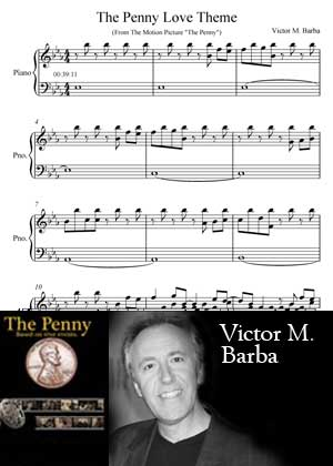 The Penny Love Theme With Sheet Music PDF By Victor M. Barba