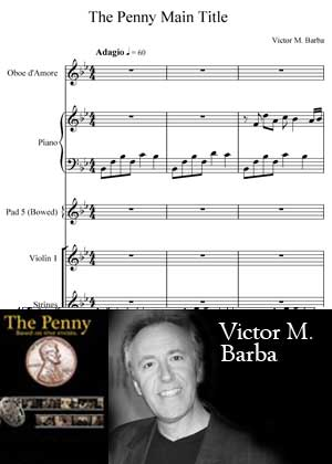Main Title With Sheet Music PDF By Victor M. Barba