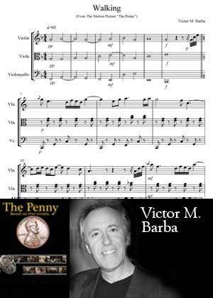 Walking With Sheet Music PDF By Victor M. Barba