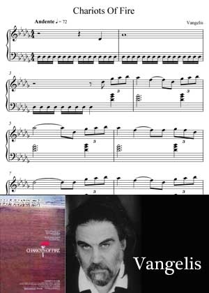 ID33125_Chariots_Of_Fire By Vangelis Sheet Music With PDF score and a video tutorial in songnes.com