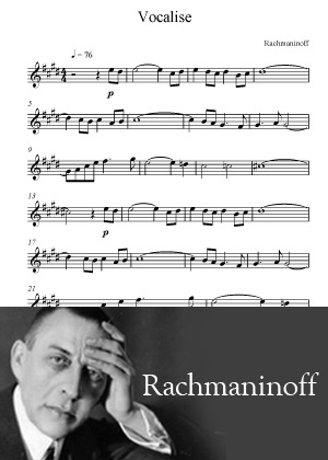 Vocalise By Sergie Rachmaninoff