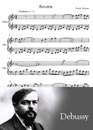 Reverie by Claude Debussy