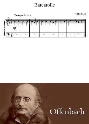 Barcarolle by Offenbach