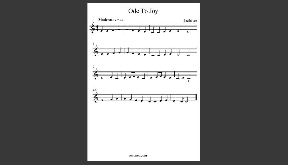 ID48012_Ode_To_Joy_Piano