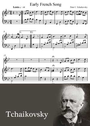 Early French Song By Pyotr Ilyich Tchaikovsky