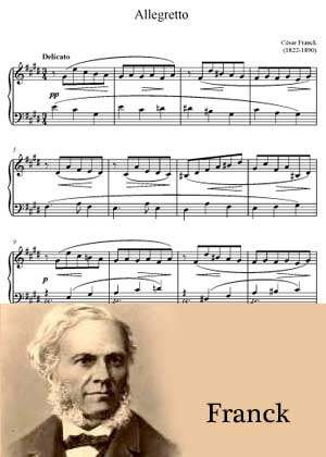 Allegretto By Cesar Franck