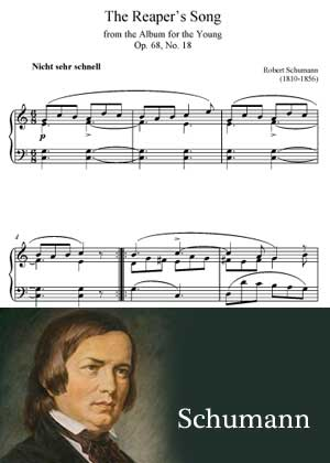 The Reaper Song By Robert Schumann