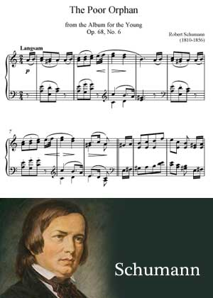 The Poor Orphan By Robert Schumann