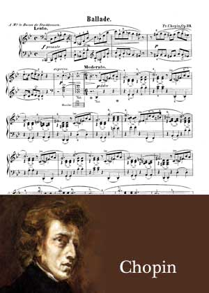 Ballade No 1 in Gm By Frederic Chopin
