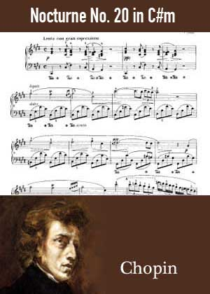 Nocturne No 20 in C-sharp minor By Frederic Chopin