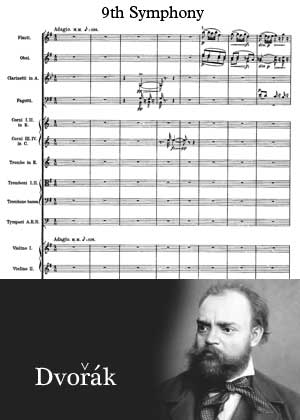 9th Symphony By antonin Dvorak With Sheet Music in PDF