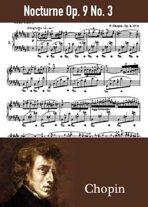 ID48119_Nocturne_Op_9_No_3 By Chopin with sheet music in PDF and video tutorial