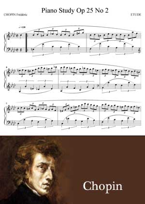 ID48120_Study_Op_25_No_2 By Chopin with sheet music in PDF and a video Tutorial