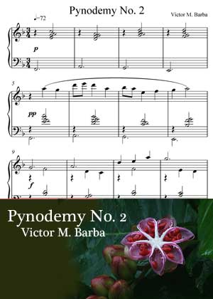 ID48129_Pynodemy_No_2 By Victor M. Barba with sheet music in PDF score and a video tutorial in songnes.com