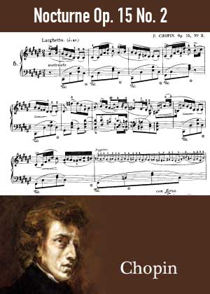 ID48130_Nocturne_Op_15_No_2 By Frederic Chopin with sheet music in PDF score in songnes.com