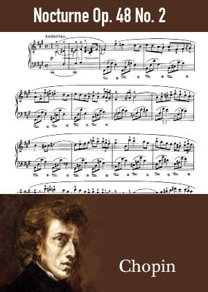 ID48139_Nocturne_Op_48_No_2 By Frederic Chopin with sheet music in PDF score in songnes.com