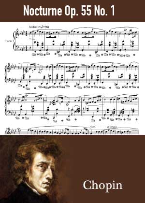 ID48140_Nocturne_Op_55_No_1 By Frederic Chopin with sheet music in PDF score in songnes.com