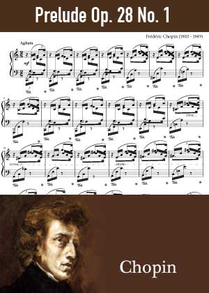 ID48145_Prelude_Op_28_No_1 By Frederic Chopin with sheet music in PDF score in songnes.com