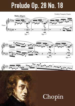 ID48162_Prelude_Op_28_No_18 By Frederic Chopin with sheet music in PDF score in songnes.com