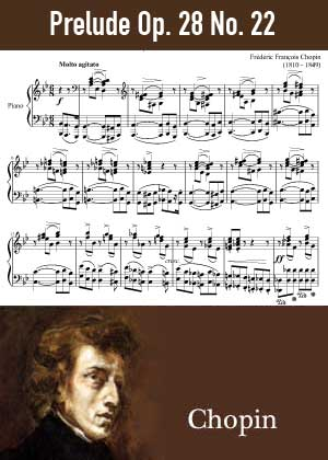 ID48166_Prelude_Op_28_No_22 By Frederic Chopin with sheet music in PDF score in songnes.com