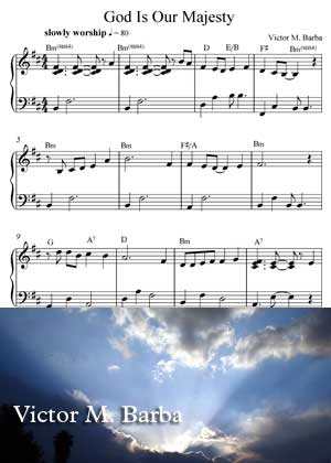 God Is Our Majesty Sheet Music PDF By Victor M. Barba