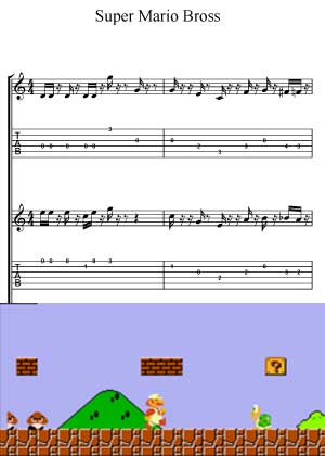 Underwater From Super Mario Bros Nintendo
