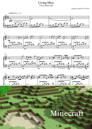 Living Mice From Minecraft with sheet music in PDF