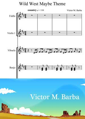 Wild West Maybe Theme By Victor M Barba