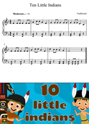 Ten Little Indians Traditional Song