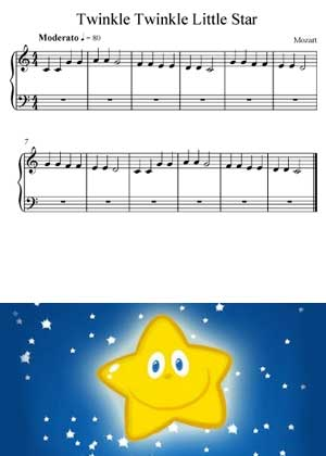 Twinkle Twinkle Little Star a Children Song