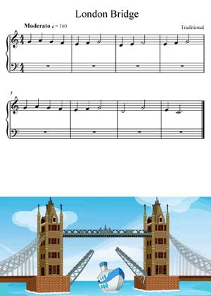 London Bridge a children song