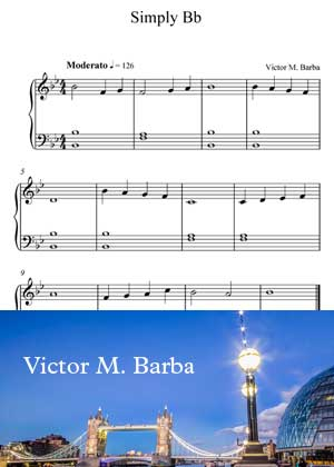 Simple Bb By Victor M. Barba with sheet music PDF