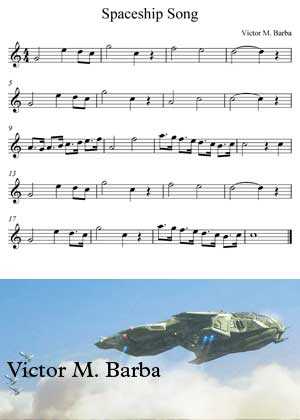 Spaceship By Victor M. Barba sheet music with PDF