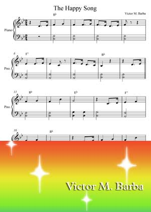 The Happy Song By Victor M. Barba with sheet music PDF
