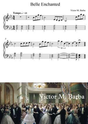 Belle Enchanted By Victor M. Barba with sheet music in PDF and video tutorial