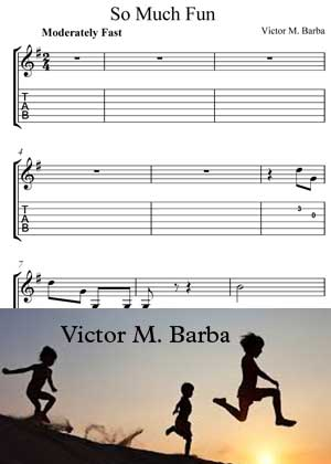 ID64116_So_Much_Fun with video tutorial and sheet music in PDF