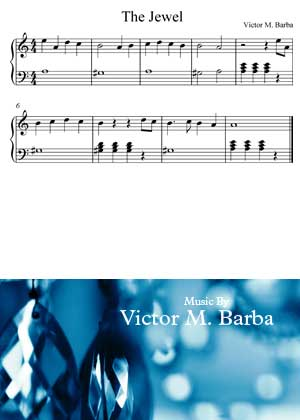 ID64125_The_Jewel By Victor M. Barba with video tutorial and sheet music in PDF