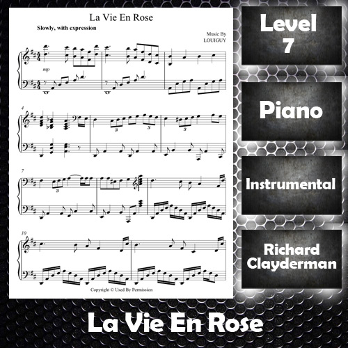 La Vie En Rose By Richard Clayderman