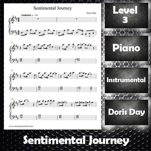 Sentimental Journey by Doris Day