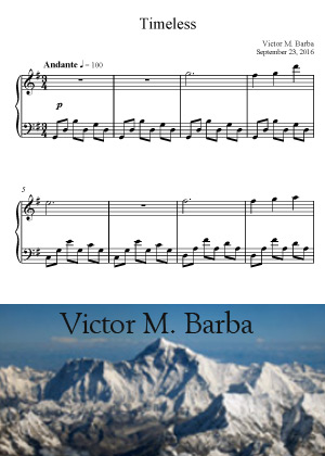 Timeless With Sheet Music PDF By Victor M. Barba