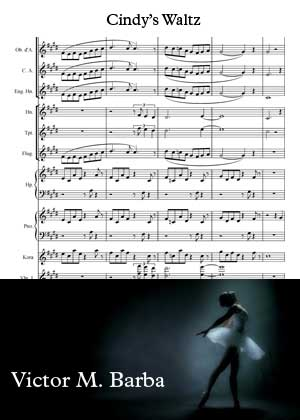 Cindy's Waltz By Victor M Barba with sheet music PDF